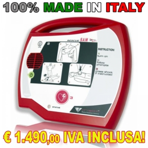 Defibrillatore Rescue Sam 100% MADE IN ITALY