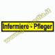 PATCH RICAMATA 24X5 INFERMIERE - PFLEGER