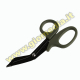 FORBICI MILITARY SCISSORS BLACK/GREEN