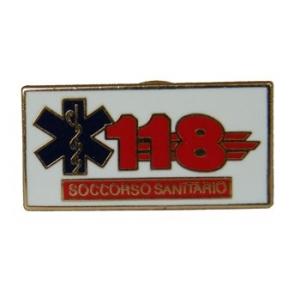 Spilla Pin 118 Soccorso Sanitario