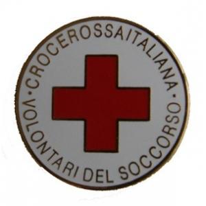 Spilla Pin Croce Rossa Italiana Vv.D.S.