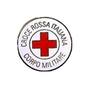 Spilla Pin Croce Rossa Italiana Corpo Militare