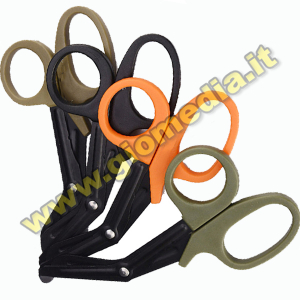 FORBICI MILITARY SCISSORS BLACK/TAN