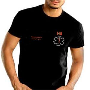 T-Shirt Nera - Personalizzabile