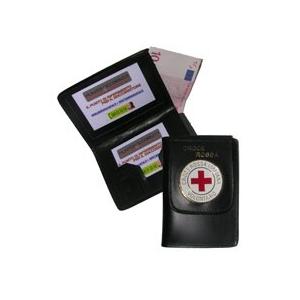 Portafoglio Con Distintivo Croce Rossa