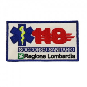 PATCH 118 LOMBARDIA CON VELCRO
