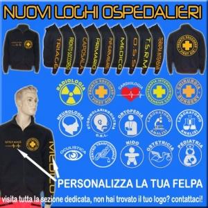 FELPA OSPEDALIERA BLU NOTTE