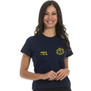 T-Shirt Blu DONNA - Personalizzabile