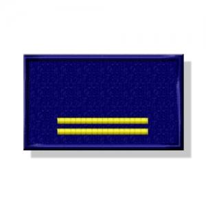 Etichetta Patch ricamata 10x2 cm BLS-D + ITALIA
