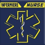 INFERMIERE - NURSE (GIALLO FLUO)