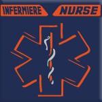 INFERMIERE - NURSE (ARANCIO FLUO)