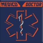 MEDICO - DOCTOR (ARANCIO FLUO)