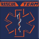 RESCUE TEAM (ARANCIO FLUO)