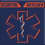 SOCCORRITORE - RESCUER (ARANCIO FLUO)